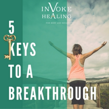 5 Keys to a Breakthrough